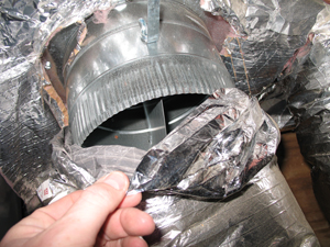 Duct Insulation Installation in Connecticut